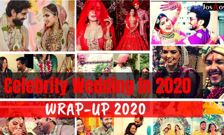 Celebrites Wedding 2020